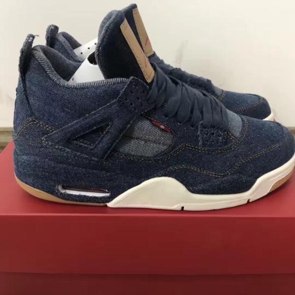 sale retailer 04901 4305c Nike Air Jordan 4 Retro Levis Nrg - AO2571 401 NWT